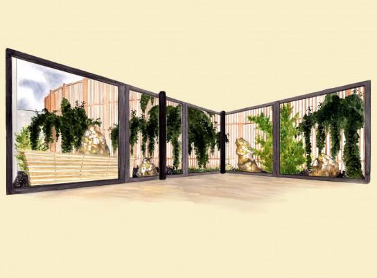 Ontwerp stijl posts tuinarchitect ffstyles edward vlasveld