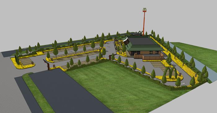 Landschap architectuur
